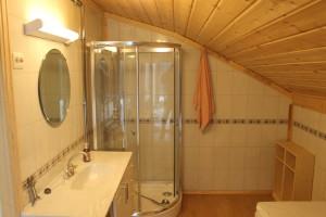 Bilde av bad i utleiehytte
