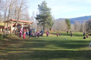 bilde av uteaktivitet i Øyom park